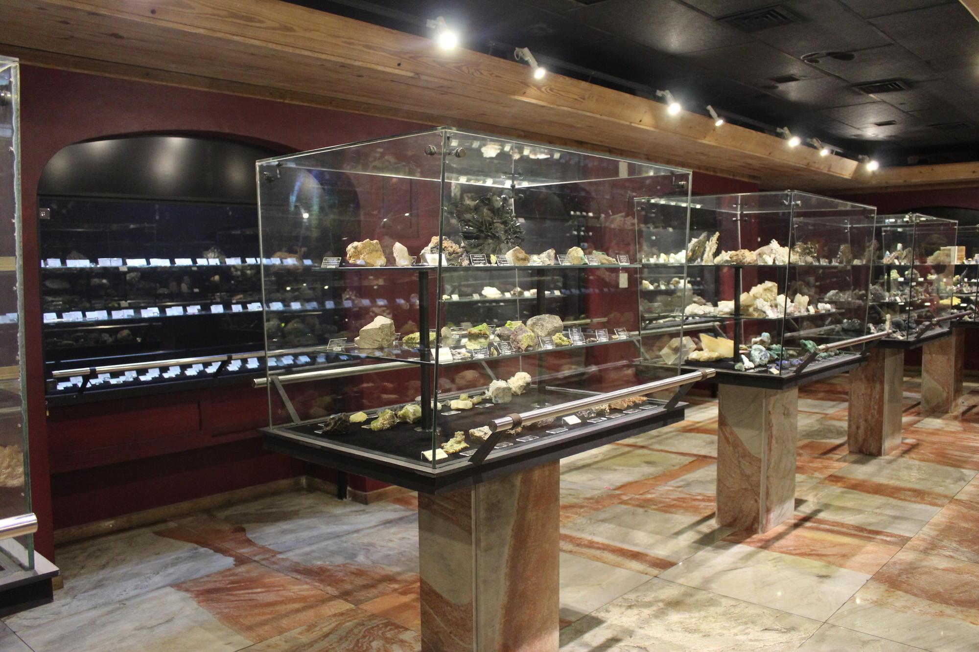 Sala Mineralogia 1